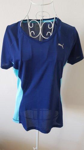 Puma Canotta sportiva blu-turchese
