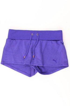 Puma Spodnie sportowe fiolet-bladofiołkowy-jasny fiolet-ciemny fiolet Bawełna