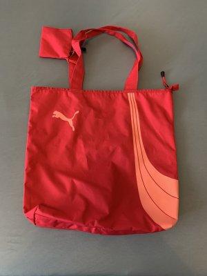 Puma Sac de sport rouge brique