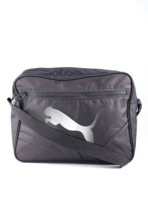 Puma Borsa sport nero-argento stile casual