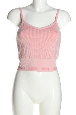 Puma Top sportowy różowy W stylu casual