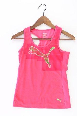 Puma Sporttop Größe XS pink aus Polyester