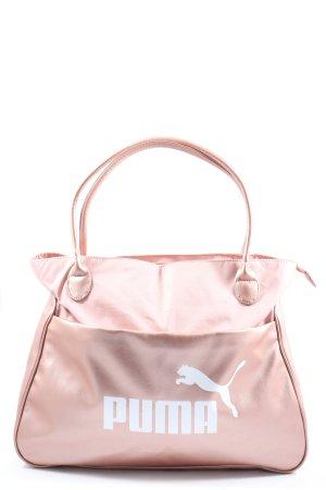 Puma Sporttas roze-wit casual uitstraling