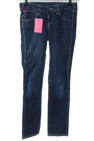 Puma Straight-Leg Jeans blau Casual-Look