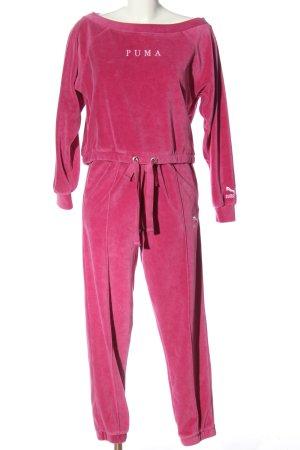 Puma Ensemble en tricot rose style décontracté