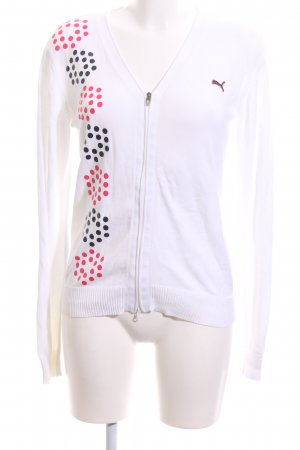 Puma Strickjacke grafisches Muster Casual-Look