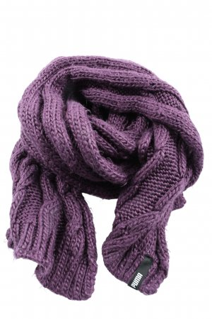 Puma Knitted Scarf lilac casual look
