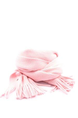 Puma Écharpe en tricot rose style décontracté