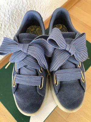 Puma Zapatos de patinador azul aciano-azul acero