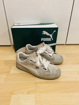 Puma Suede Heart Sneaker Gr.41 weiß Schuhe
