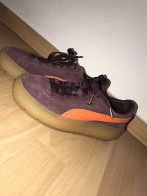 Puma Suede Plateau Sneakers