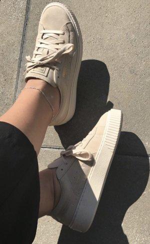 Puma Suede Platform Satin Sneaker Gr. 39