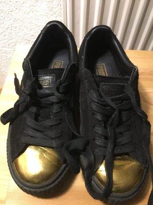 Puma Suede Platform Sneaker Goldtip