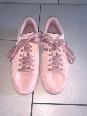 Puma Suede Platform Sneaker rosa