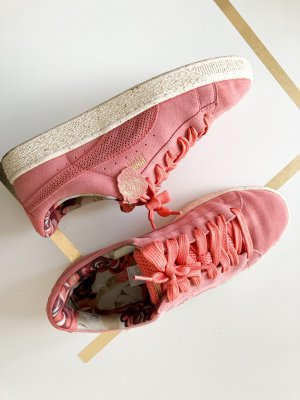 Puma Suede x Careaux c Rose Sneaker 41 Rosa pink Leder Sneaker Turnschuhe Limited Edition Sneakers