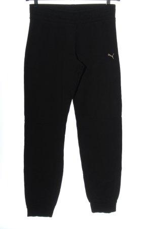 Puma Pantalón deportivo negro estilo deportivo