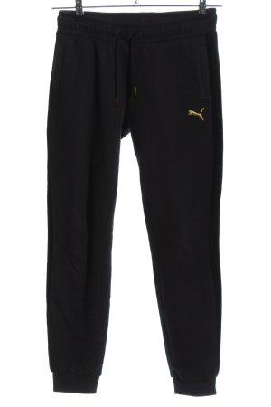 Puma Pantalon de jogging noir style athlétique