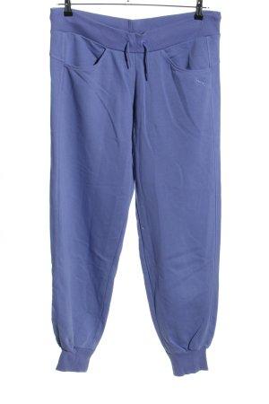 Puma Pantalon de jogging bleu style décontracté