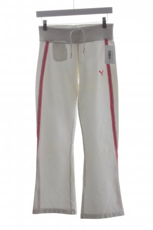 Puma Sweat Pants white-pink casual look
