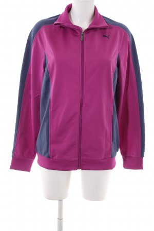 Puma Sweat Jacket pink-blue casual look