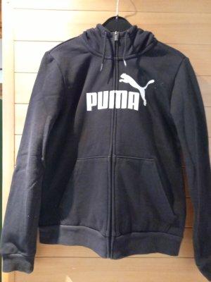 Puma Veste sweat noir tissu mixte