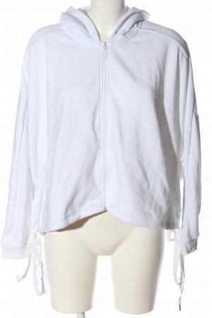 Puma Kurtka dresowa biały Sportowy styl