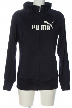 Puma Sweatjacke blau Casual-Look