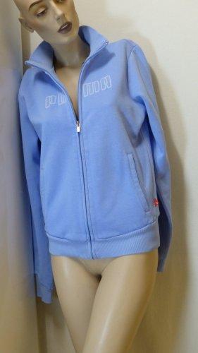 Puma Giacca fitness azzurro-bianco