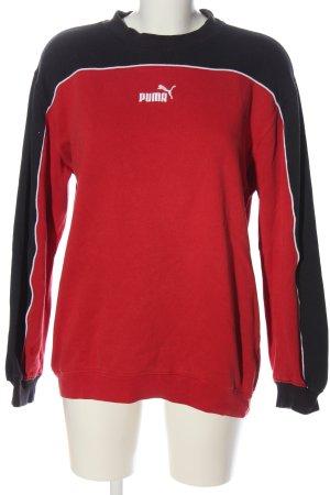 Puma Sweatshirt mehrfarbig Casual-Look