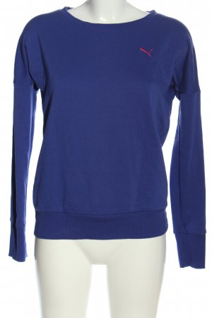 Puma Sweatshirt blau Casual-Look