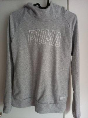 Puma Sweter z kapturem jasnoszary