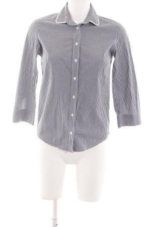 Puma Sweatshirt schwarz-weiß Karomuster Business-Look