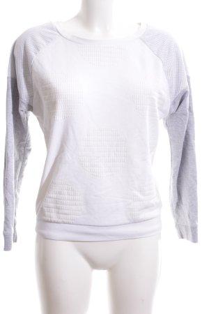 Puma Sweatshirt hellgrau-weiß Casual-Look