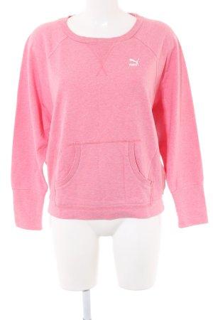 Puma Sweatshirt pink meliert Casual-Look