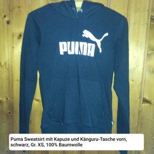 Puma Koszulka z kapturem czarny