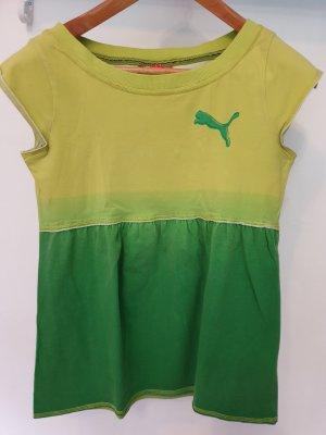Puma Shirt Tunic meadow green-green cotton