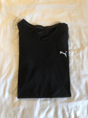 Puma Camiseta blanco-negro