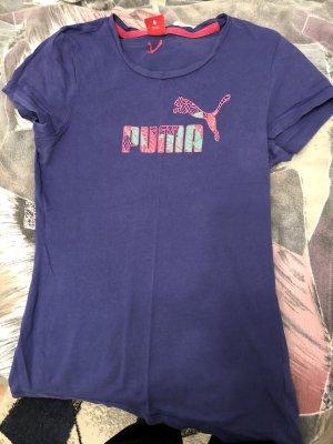 Puma Sportshirt donkerpaars