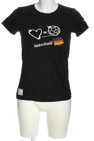 Puma T-Shirt Motivdruck Casual-Look