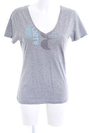 Puma T-Shirt abstraktes Muster Casual-Look