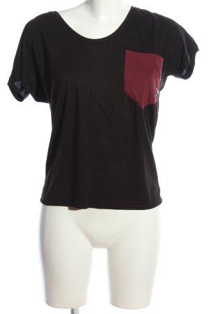 Puma T-Shirt braun-rot Casual-Look