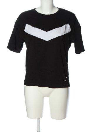 Puma T-Shirt black-white themed print casual look