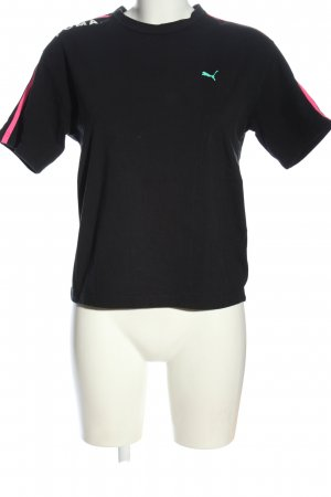 Puma T-Shirt schwarz Casual-Look