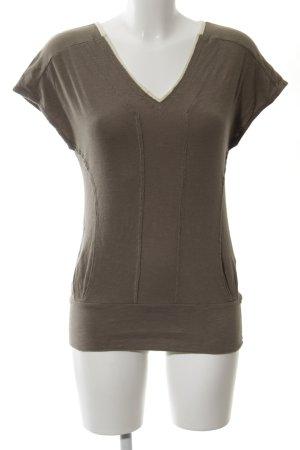 Puma T-Shirt graubraun-hellbeige Casual-Look