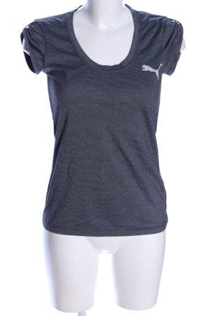 Puma T-shirt grigio chiaro Tessuto misto