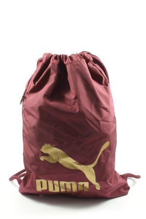Puma Tagesrucksack rot-blassgelb Casual-Look