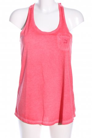 Puma Tanktop pink meliert Casual-Look