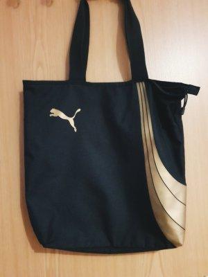 Puma Borsa shopper nero-oro