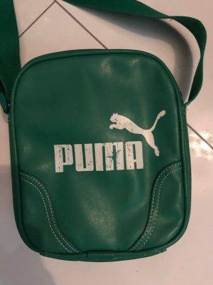 Puma Tasche Leder grün