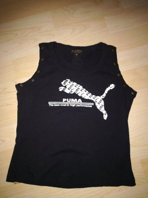 Puma Sports Shirt black cotton